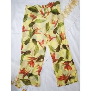 Tommy Bahama | swim cover up tropical pants